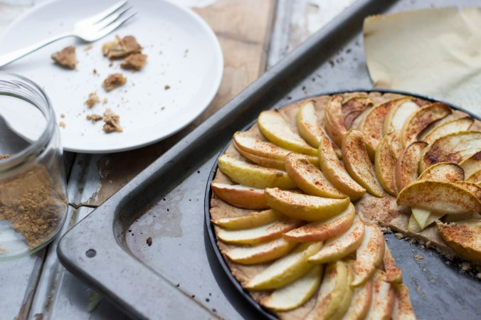 raw food vegan recepten gezonde appeltaart